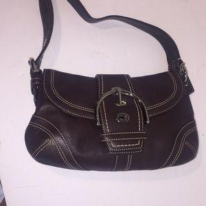 Coach Brown Leather Handbag